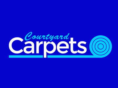 courtyard carpets logo web page