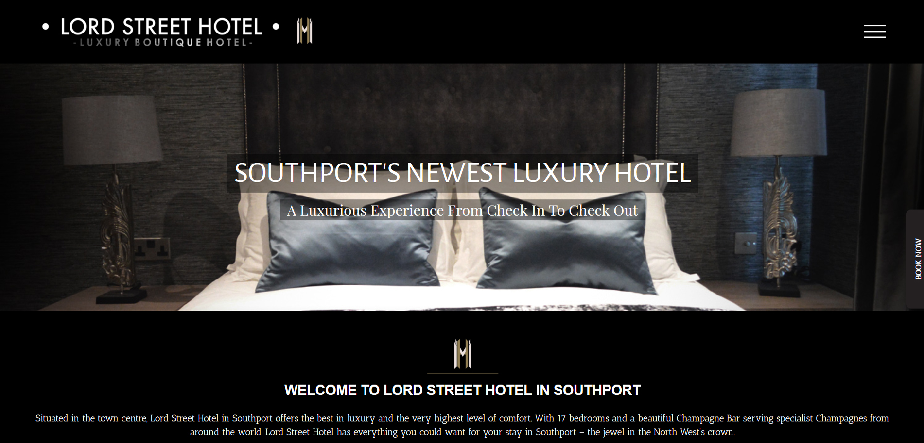 Lord Street Hotel Website